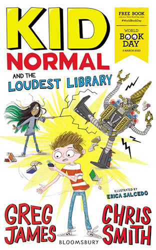 Bookcover of Kid Normal and the Loudest Library