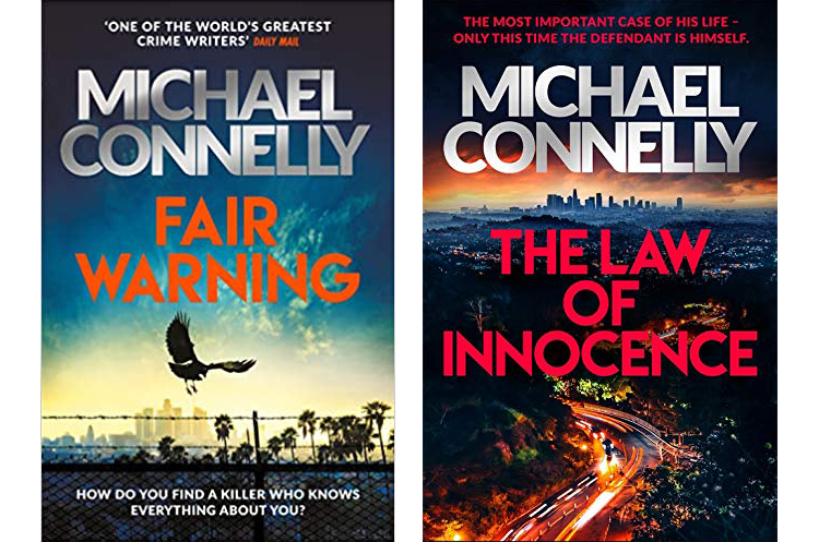 Book covers - Michael Connolly