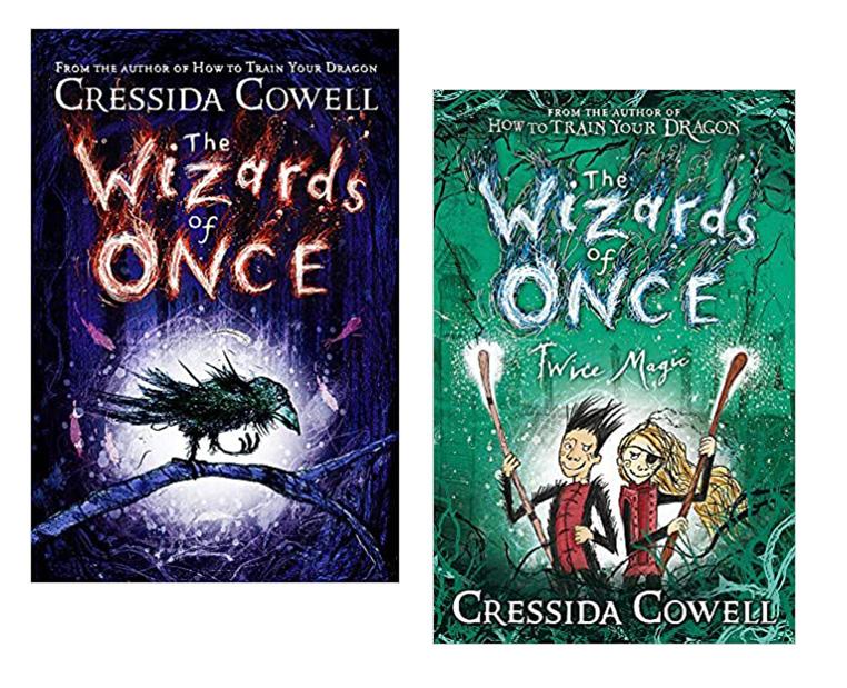 Books covers - Cressida Cowell