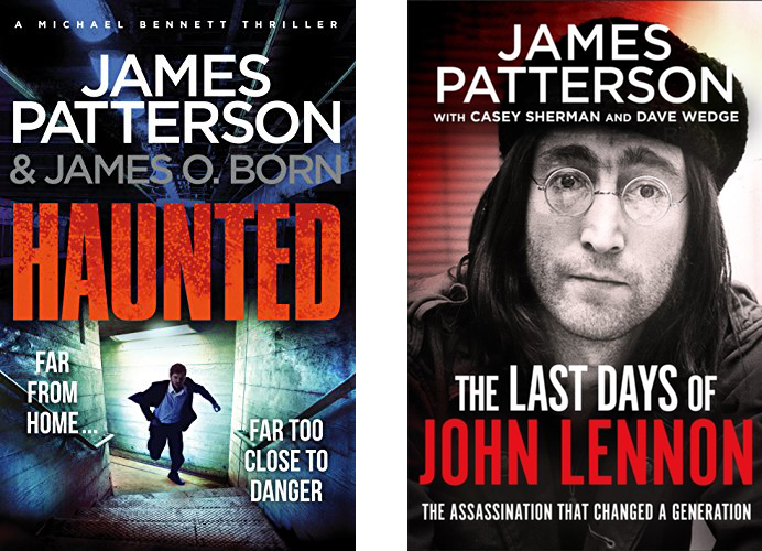 Book covers - James Patterson