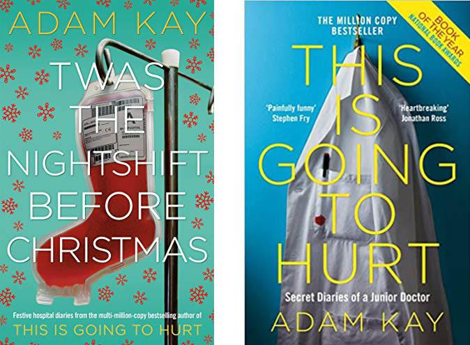 Book covers - Adam Kay