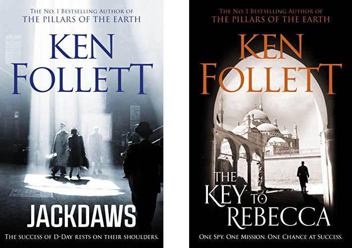 Book covers - Ken Follett