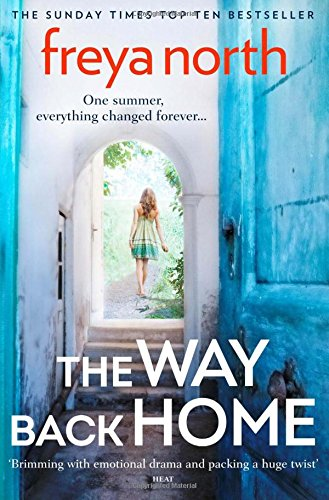 Image shows the book cover of The Way Back Home by Freya North