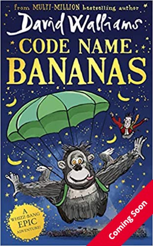 Image shows the cover of Code Name Bananas by David Walliams
