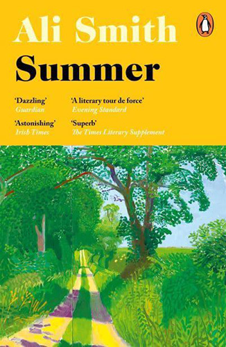 Image shows the cover of Summer by Ali Smith