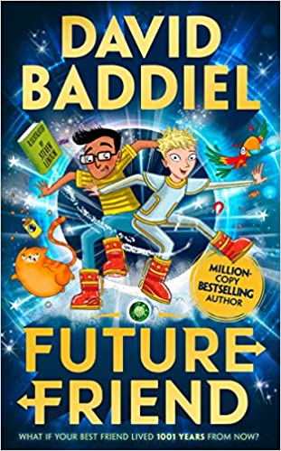 Image shows the cover of Future Friend by David Baddiel