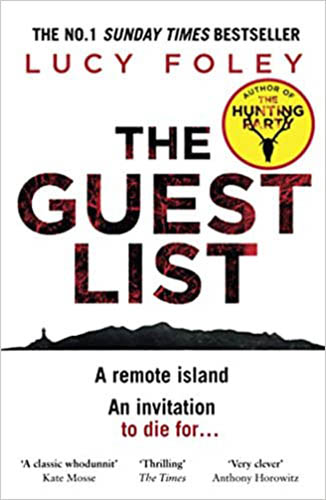 Image shows the cover of The Guest List