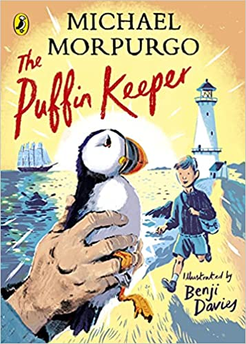 Image shows the cover of The Puffin Keeper