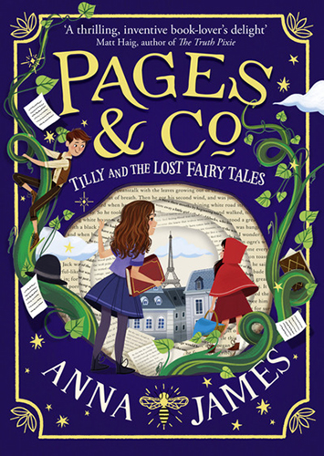 Image shows cover of Tilly & the Lost Fairy Tales
