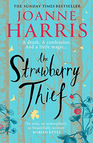 Image shows cover of The Strawberry Thief