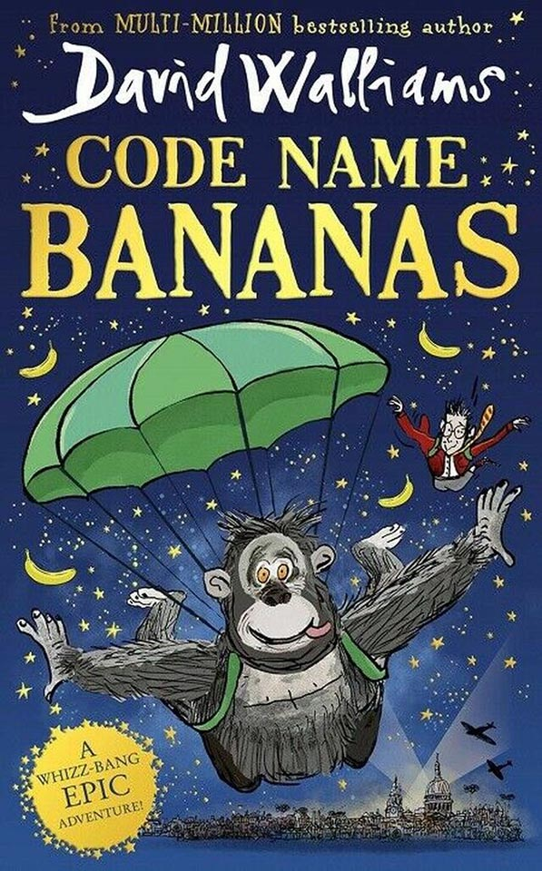 Image shows cover of Code Name Bananas
