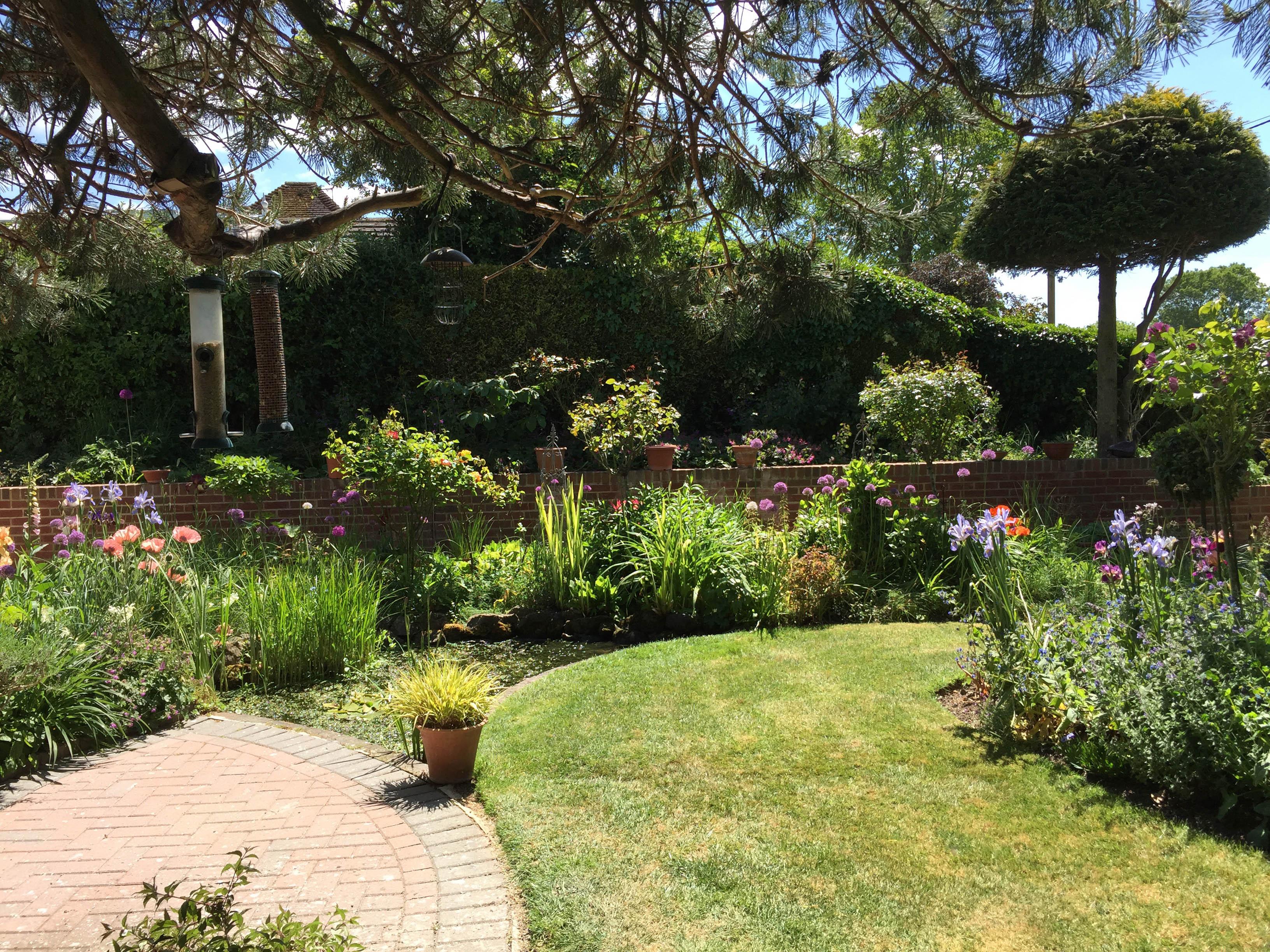 A photo of Pamela's beautiful garden