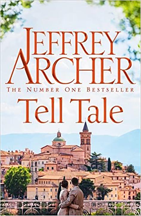 The front cover of Tell Tale by Jeffrey Archer