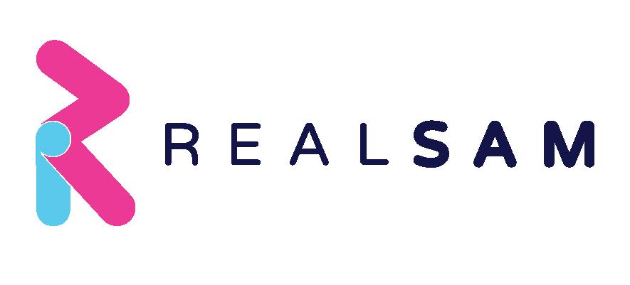 Image shows RealSAM logo