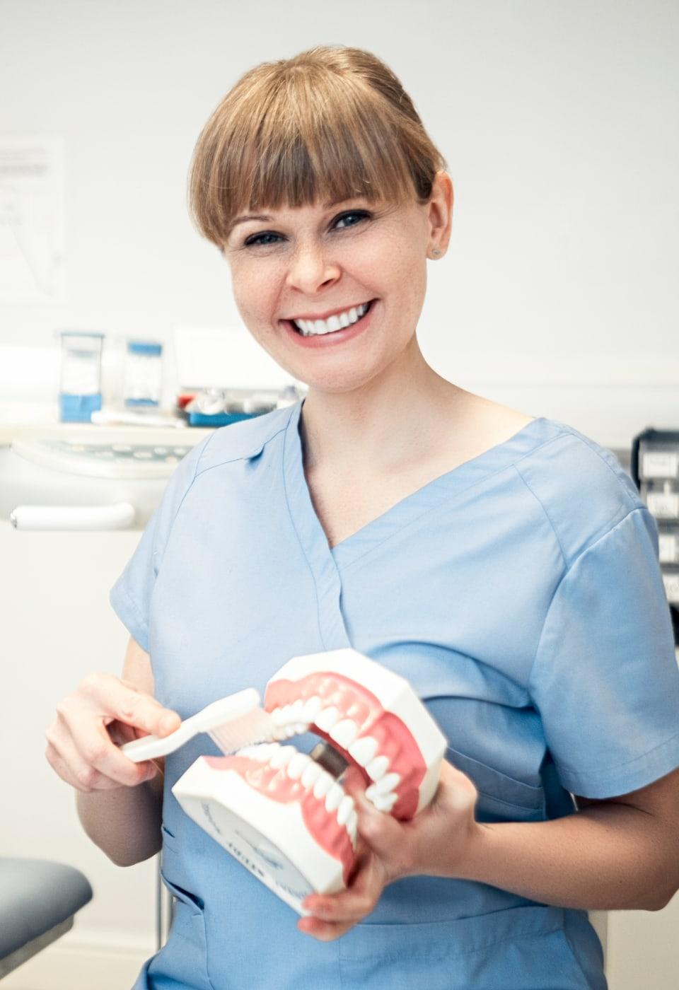 dentystka w Londynie