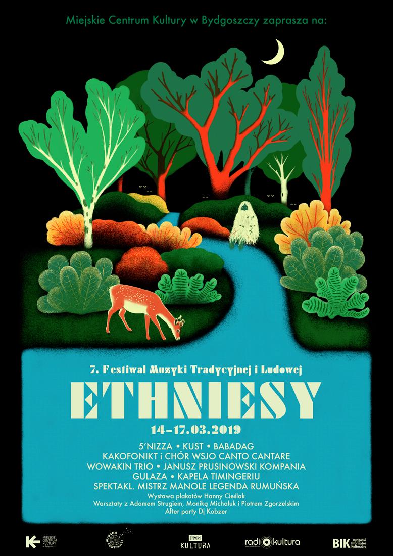 7. Międzynarodowy Festiwal Muzyki Tradycyjnej i Ludowej ETHNIESY 2019