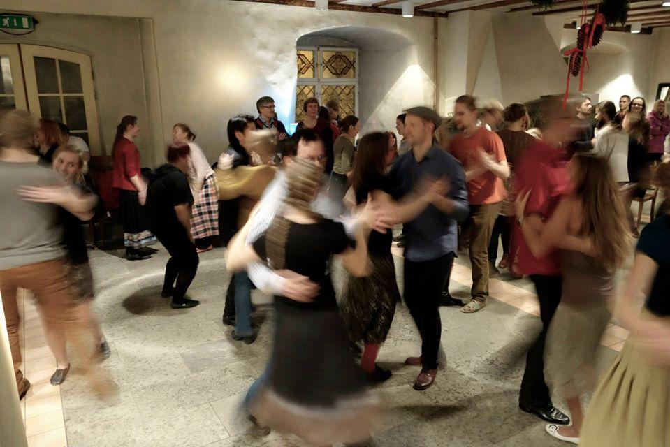 Mazurek Freestyle - warsztaty Objazdowej Akademii Tańca Tradycyjnego