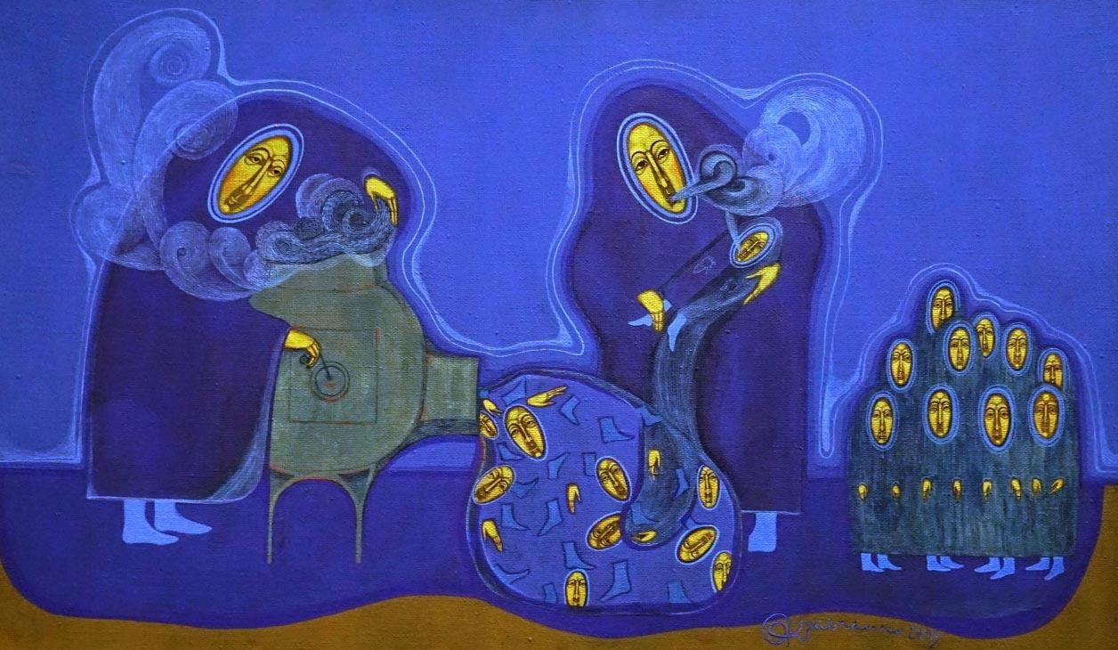 Malarstwo Oli Krawczenko – wernisaż wystawy