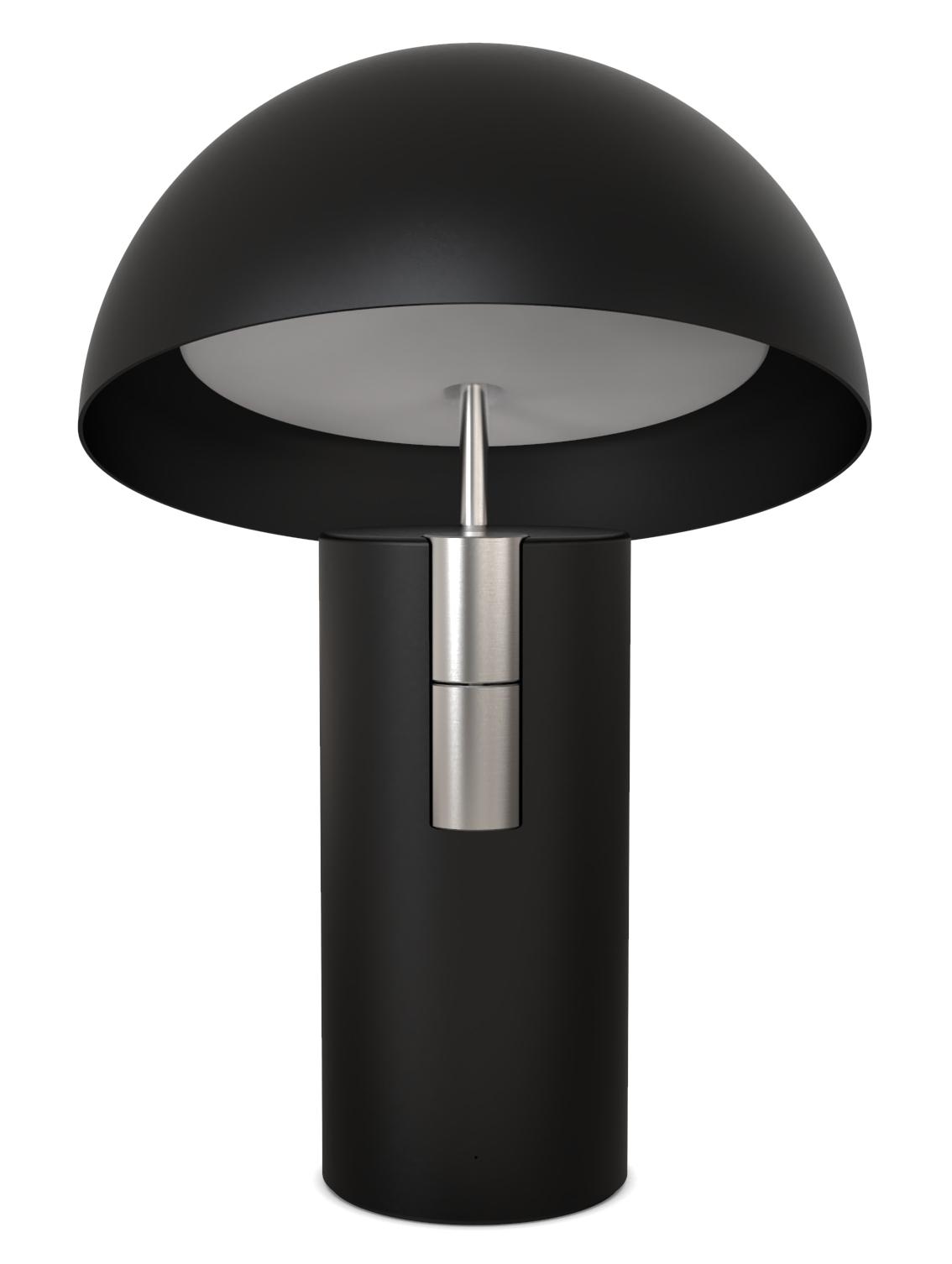 Alto - La lampe de chevet - Noir c'est noir - Jaune Fabrique