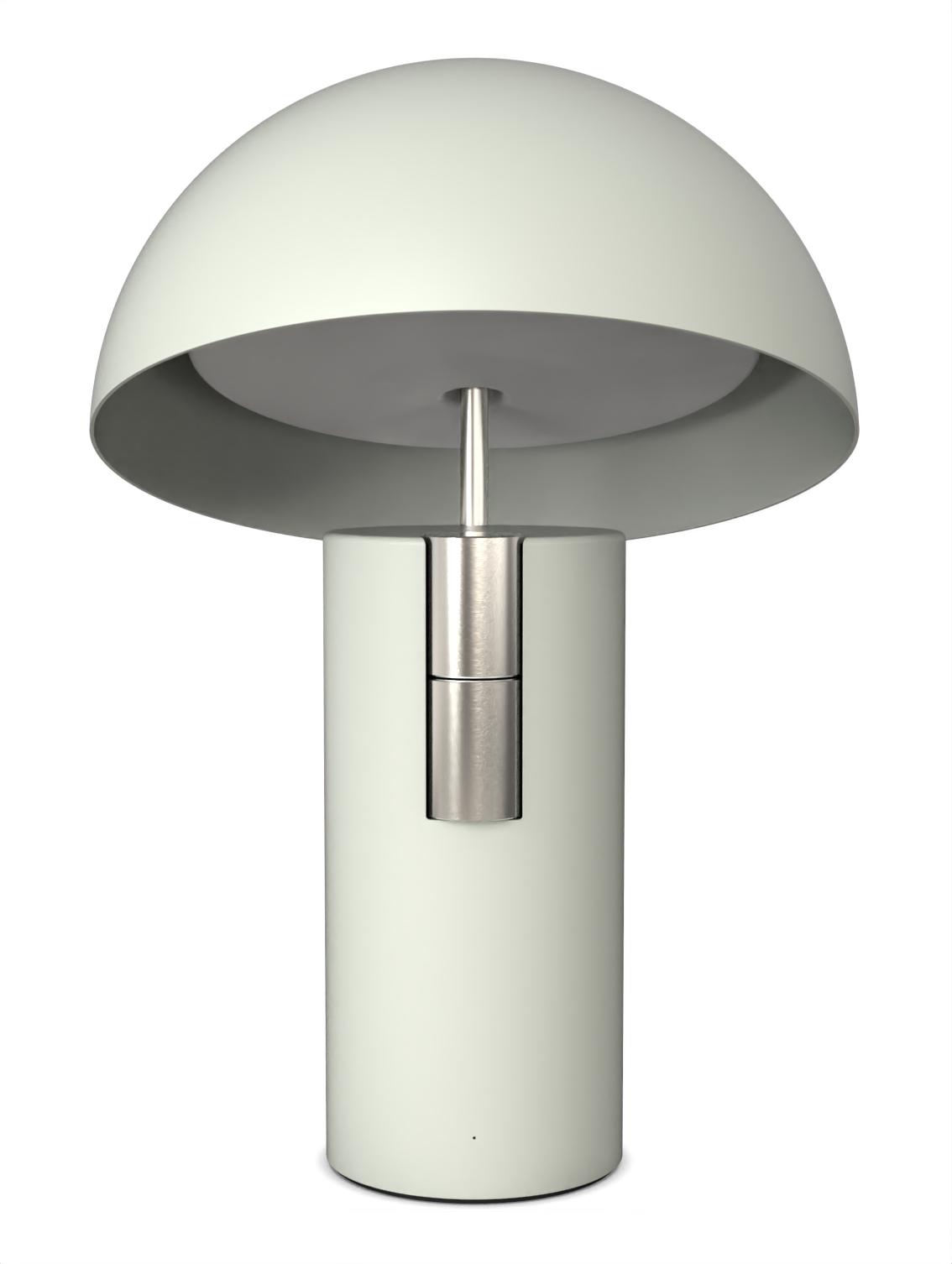 Alto Luminaire Acoustique Lampe Enceinte Jaune Fabrique Vert Nickel