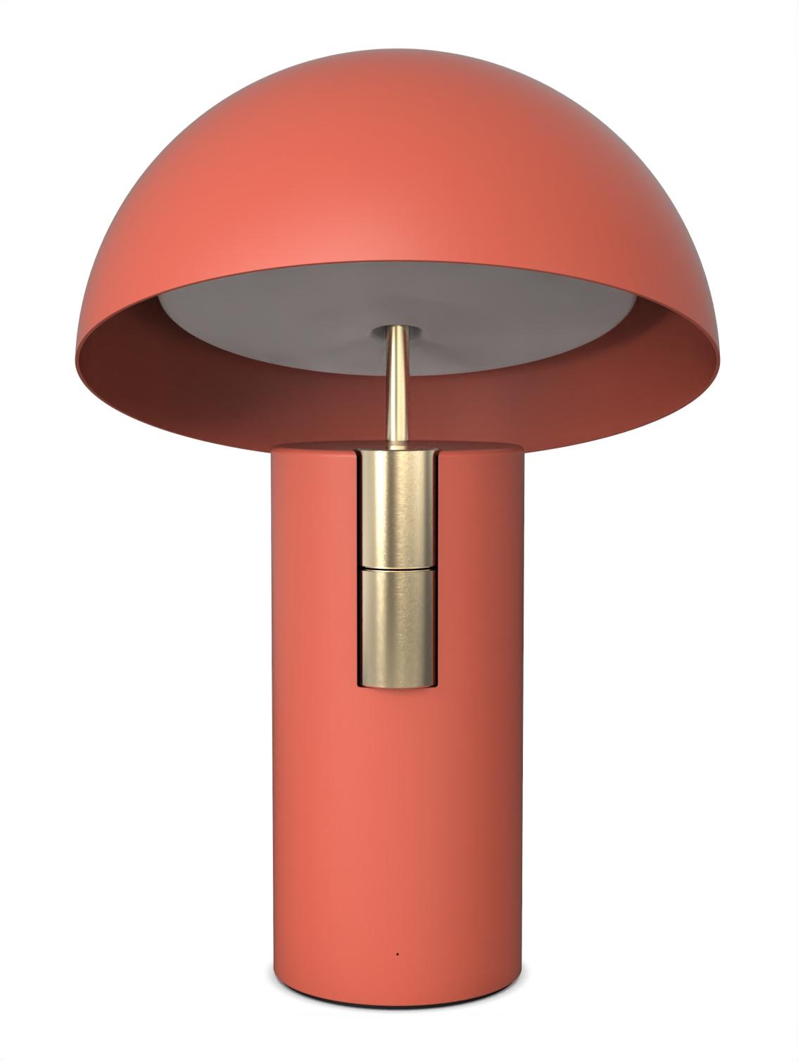 Alto Luminaire Acoustique Lampe Enceinte Jaune Fabrique Terracotta Or