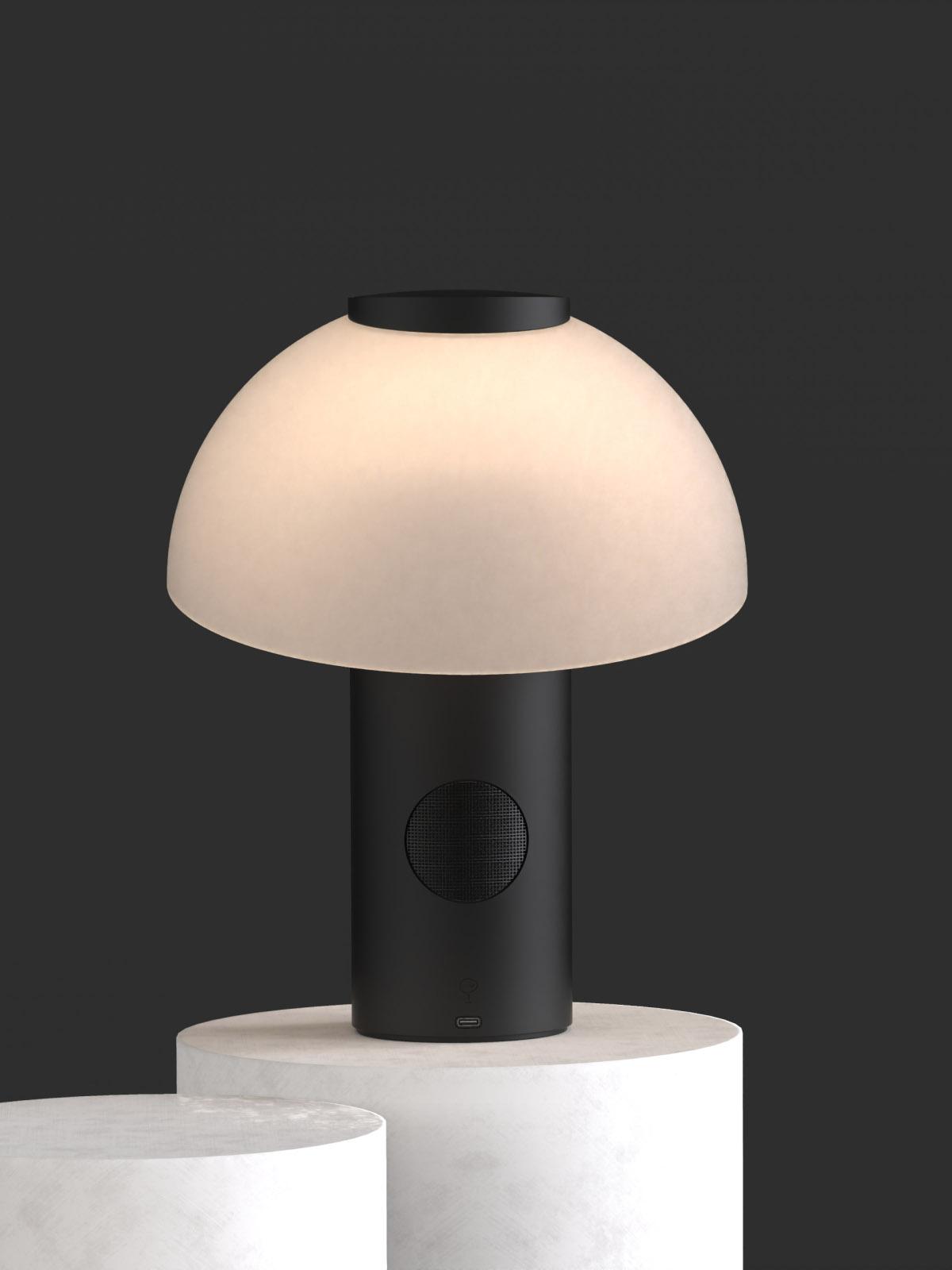 Jaune Fabrique Piccolo Lampe Enceinte