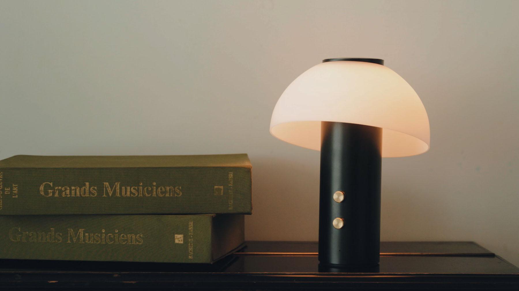 Jaune Fabrique - Luminaire acoustique Piccolo - Noir