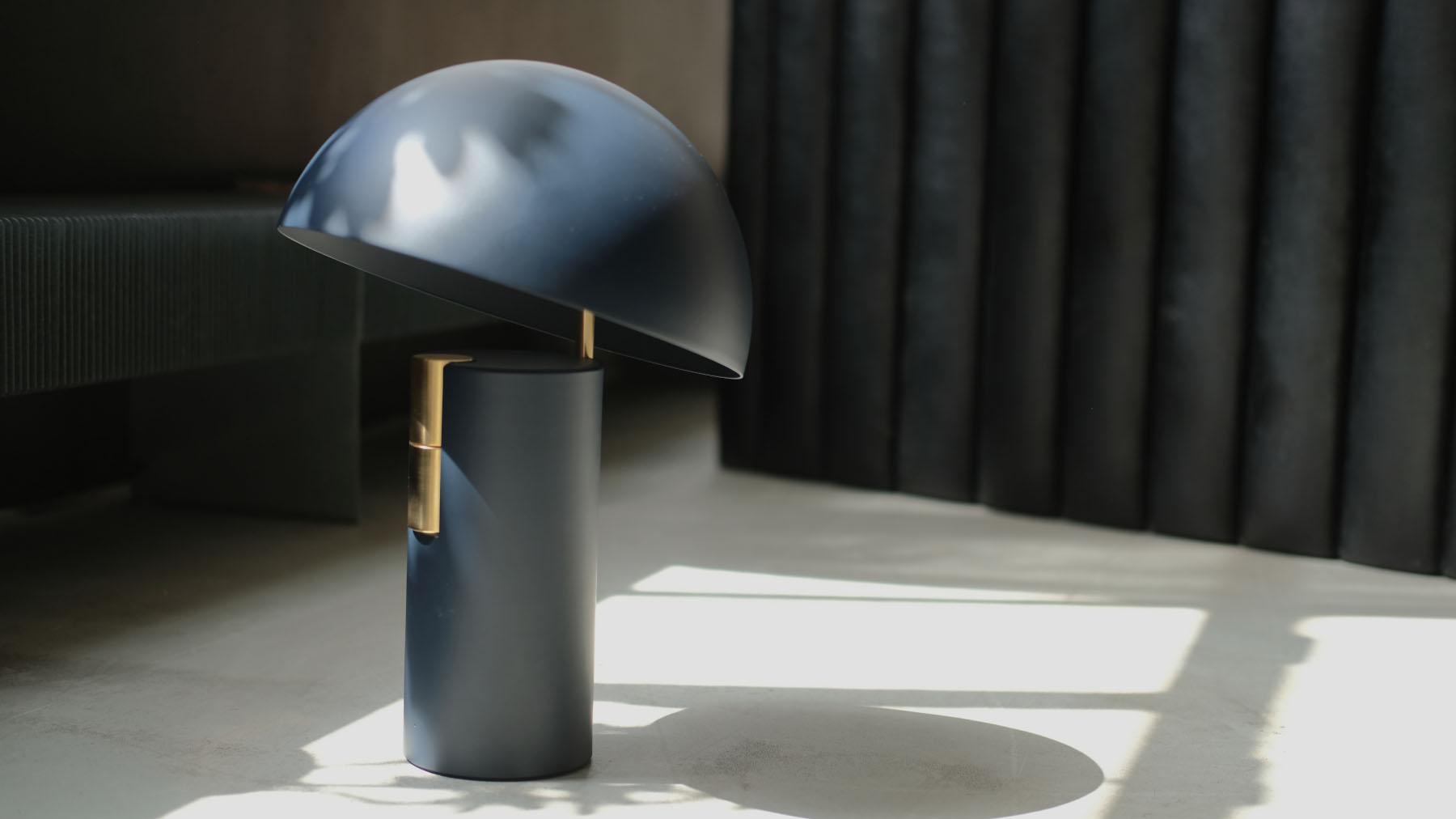 Jaune Fabrique - Luminaire acoustique Alto - Bleu