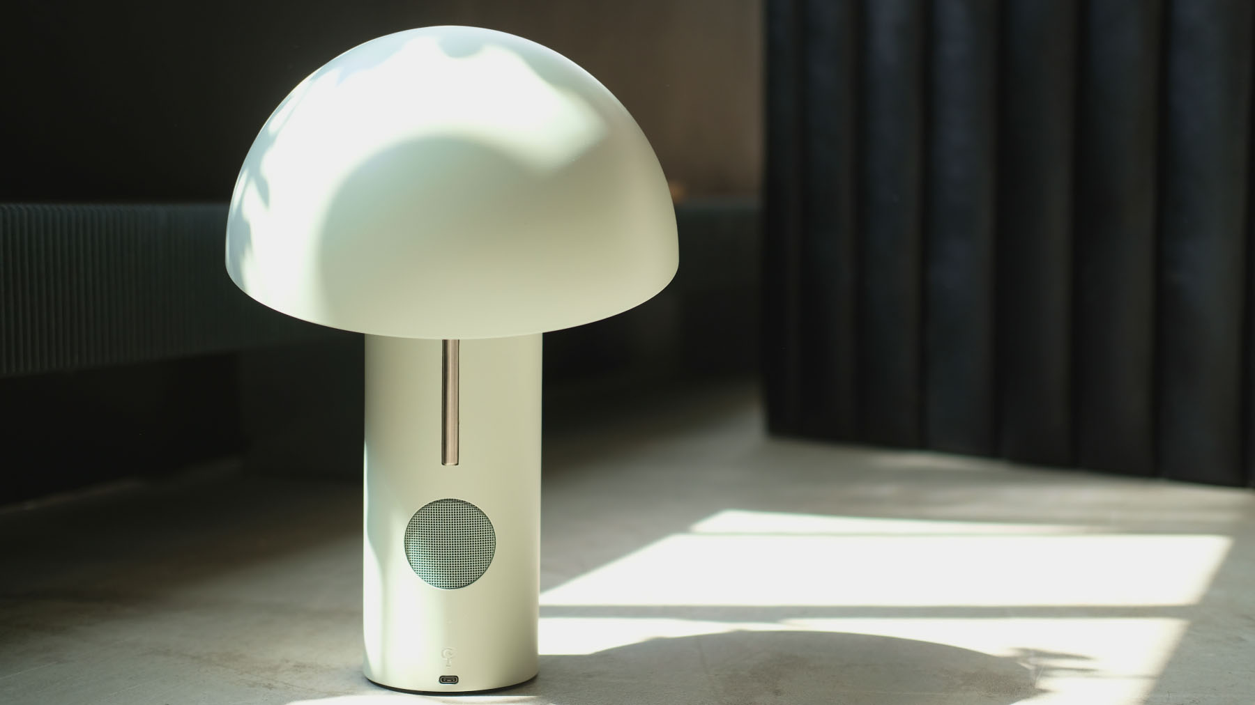 Jaune Fabrique - Luminaire acoustique Alto - Vert menthe à l'eau