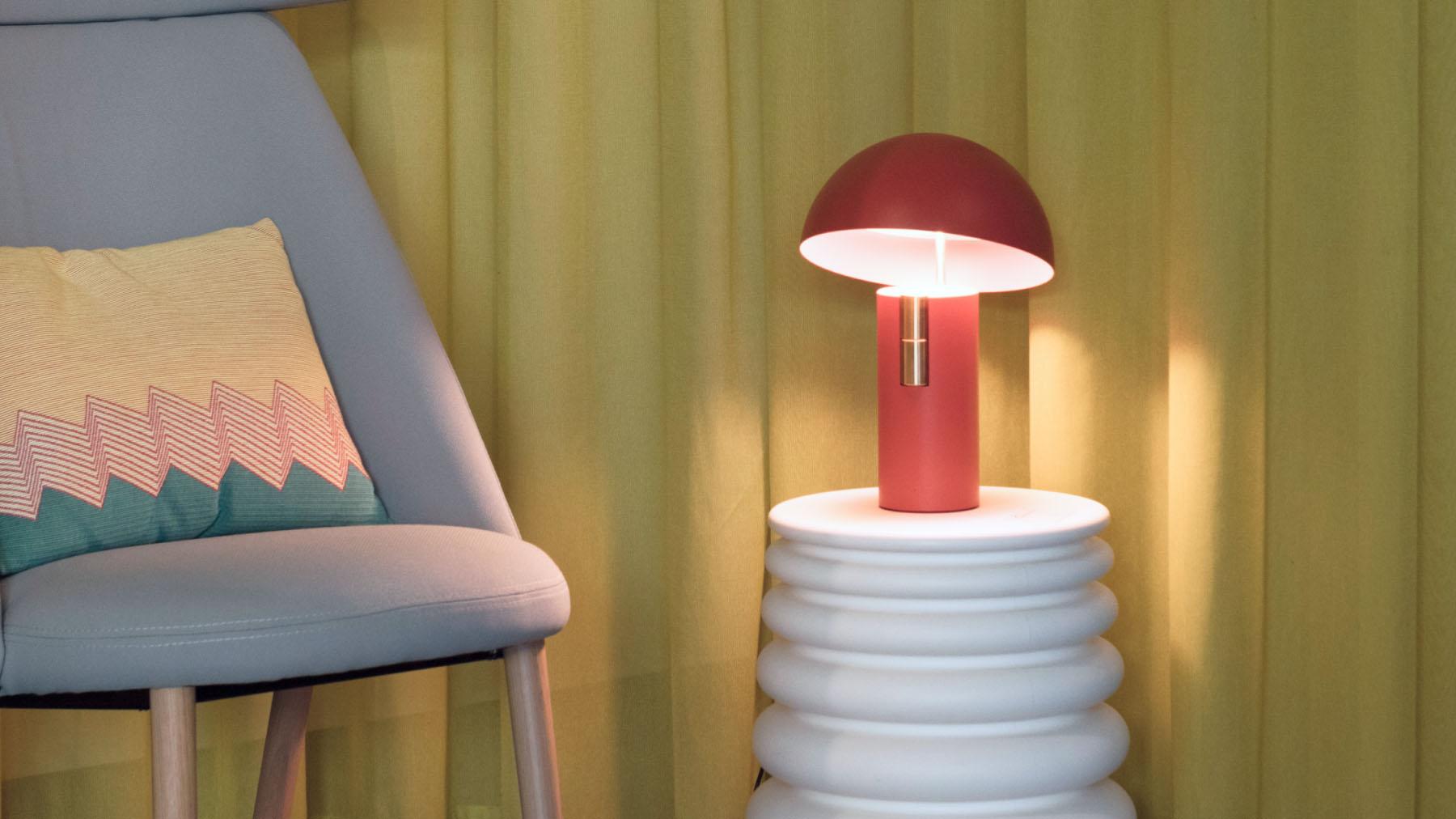 Jaune Fabrique - Luminaire acoustique Alto -Terracotta
