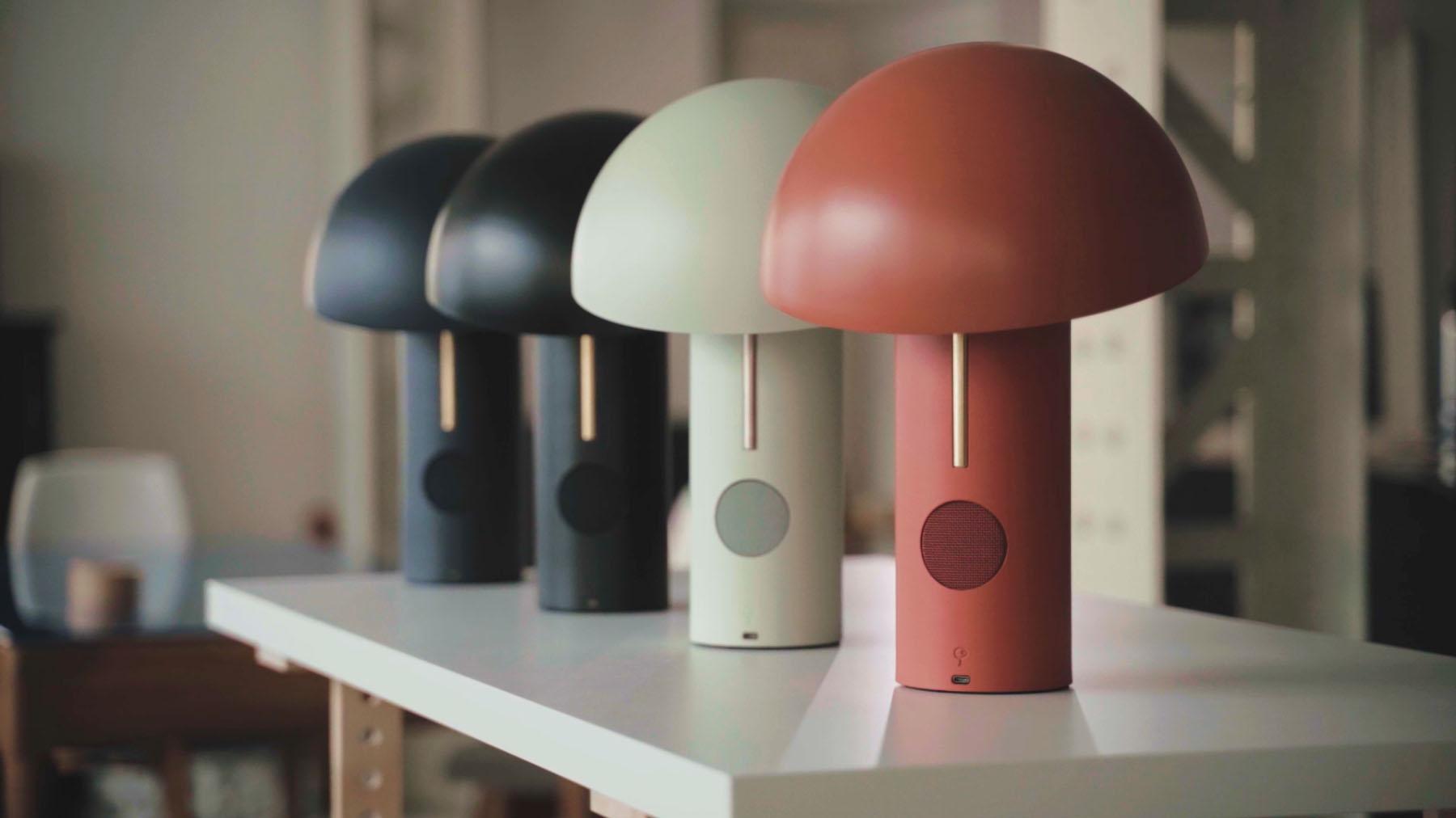 Jaune Fabrique - Luminaire acoustiques Alto 4 couleurs