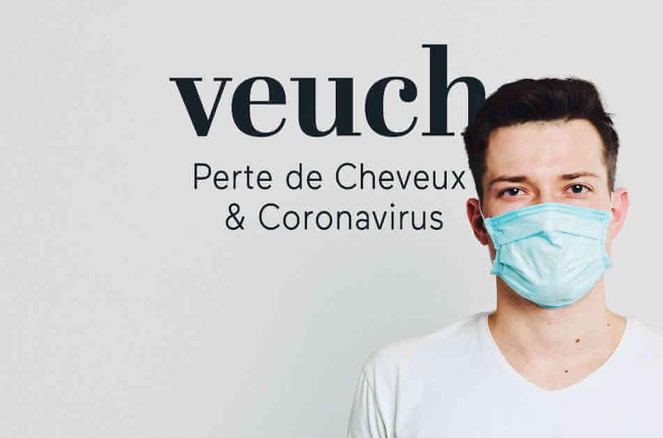 coronavirus cheveux effet chute