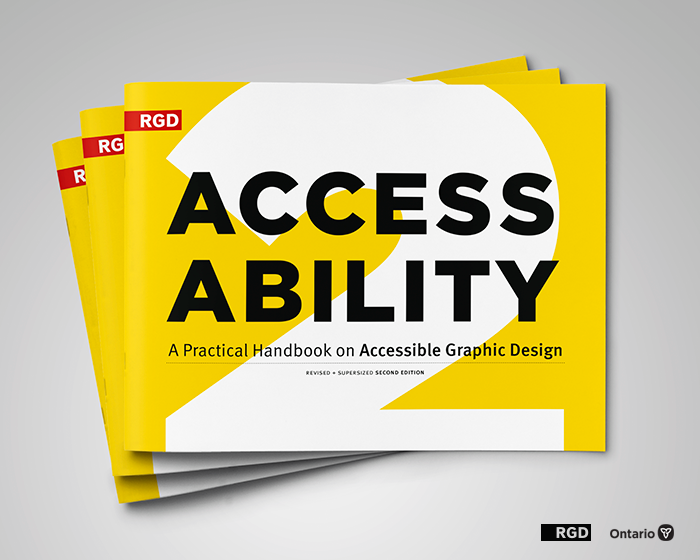 RGD AccessAbility 2: A Practical Handbook on Accessible Graphic Design