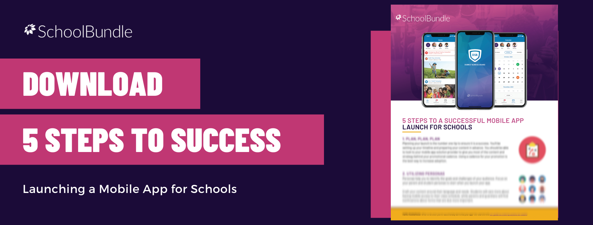 Download 5 Steps to Success whitepaper