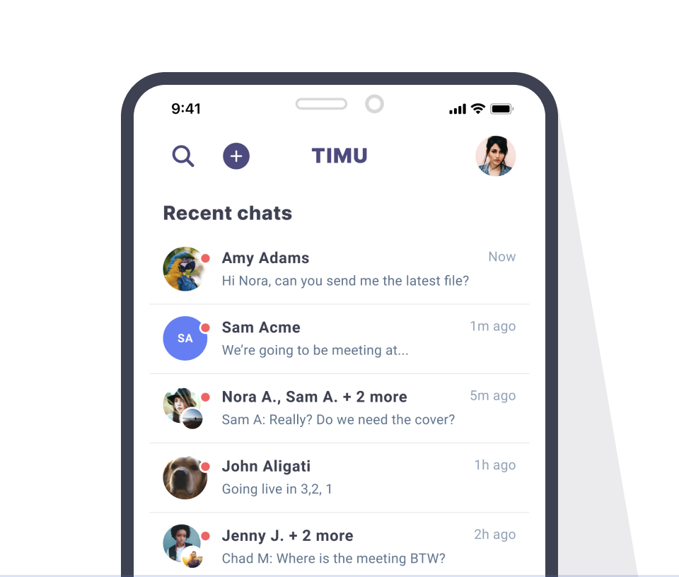TIMU Mobile Chat