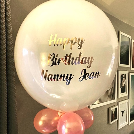 Happy Birthday Nanny Balloon - birthday celebration images