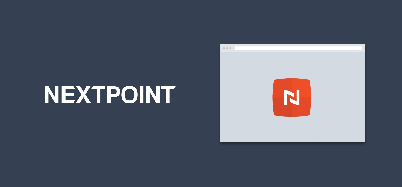 A Nextpoint-branded hero image