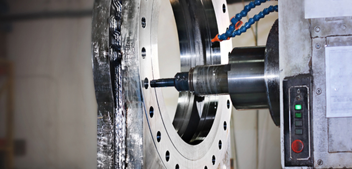 Oreacle knife gate valves being manufactured