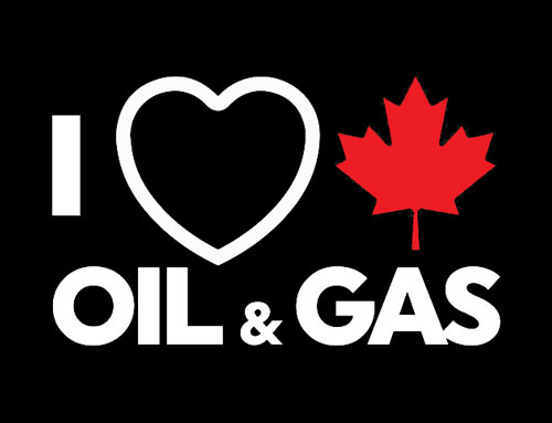 I love canadian oil and gas logo