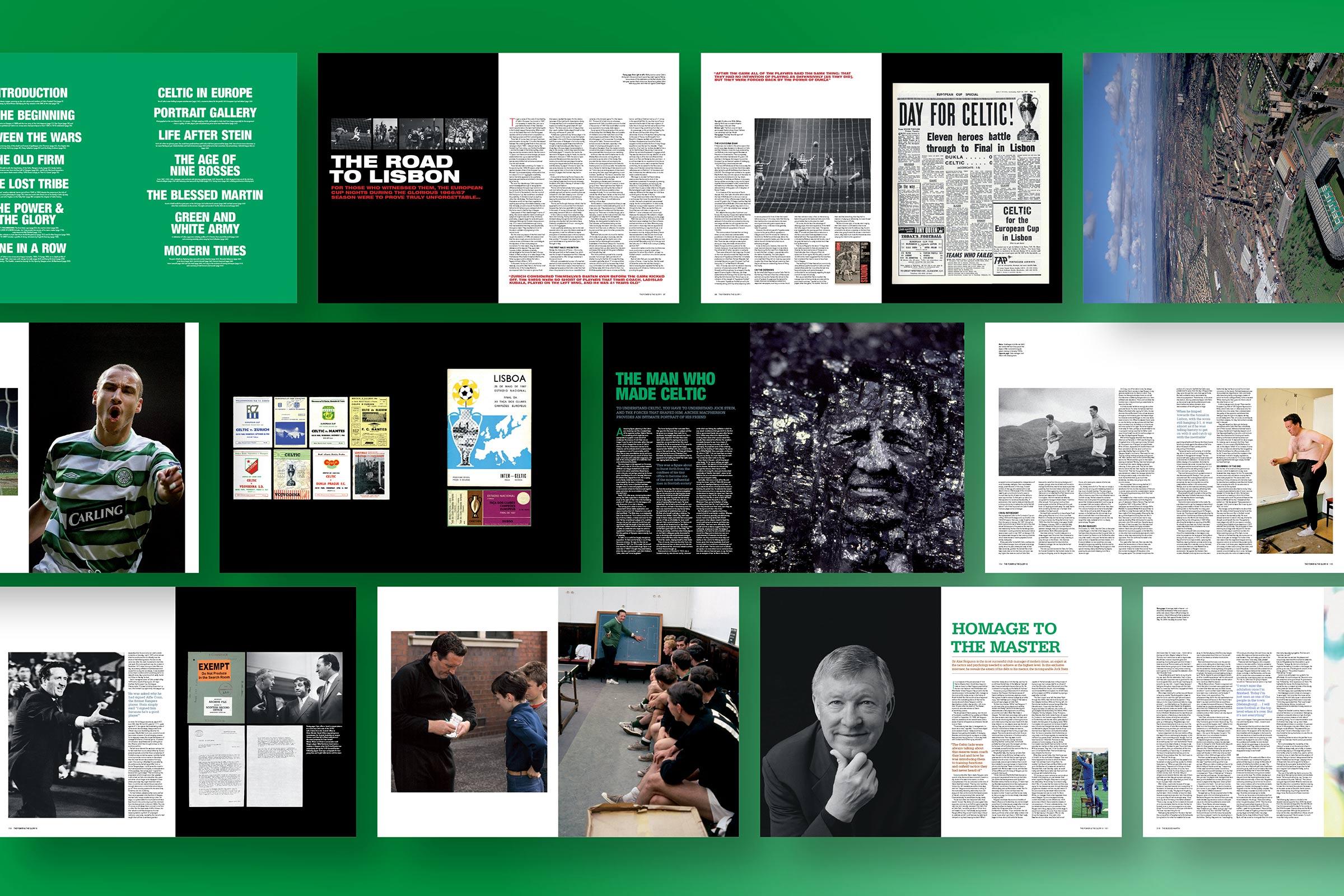 Celtic Midi Opus flatplan for a large format publication designed by us.