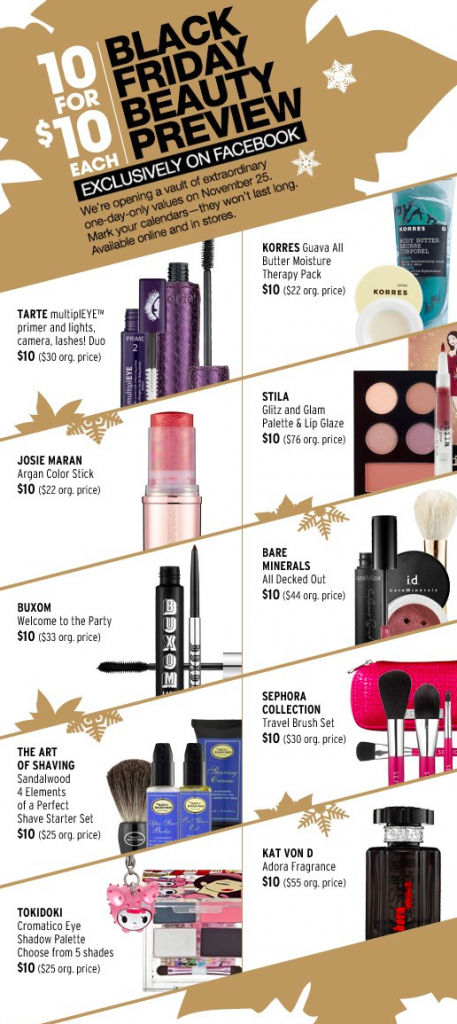 Sephora - Black Friday Campaign