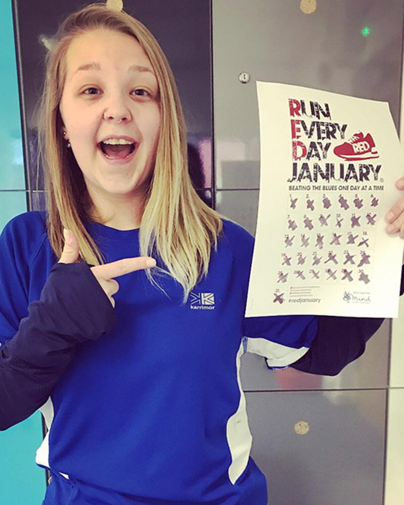 Gemma Run everyday January