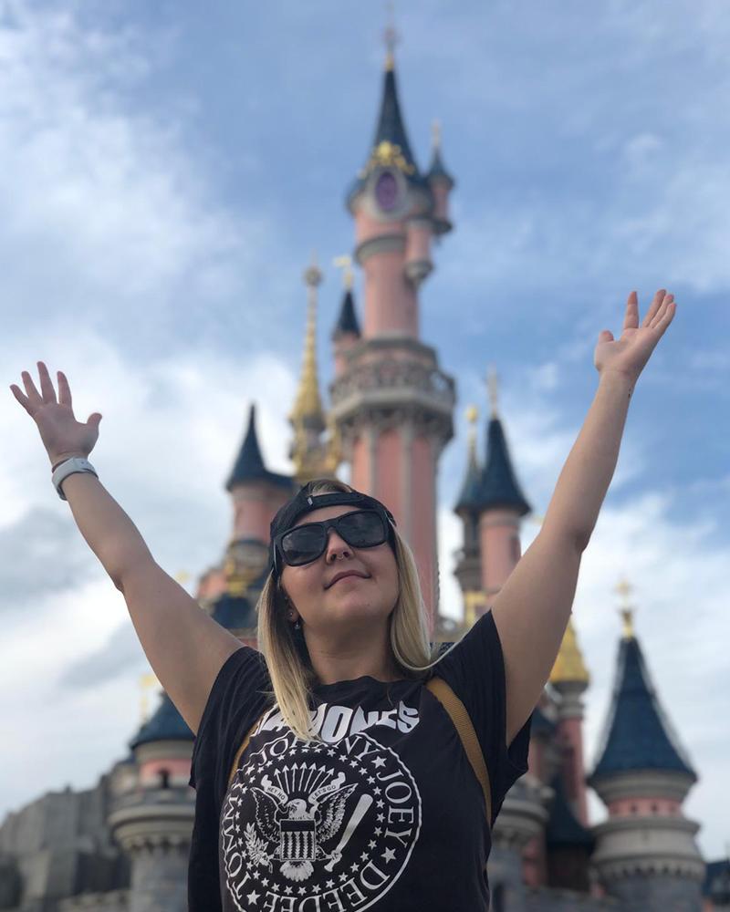 Gemma at Disneyland Paris