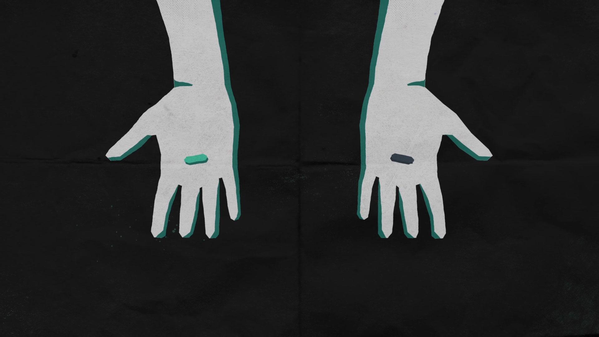 Mubi hands animation