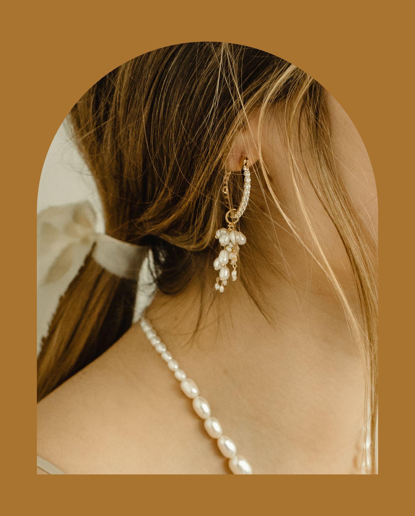 Philippa Earrings in Arch