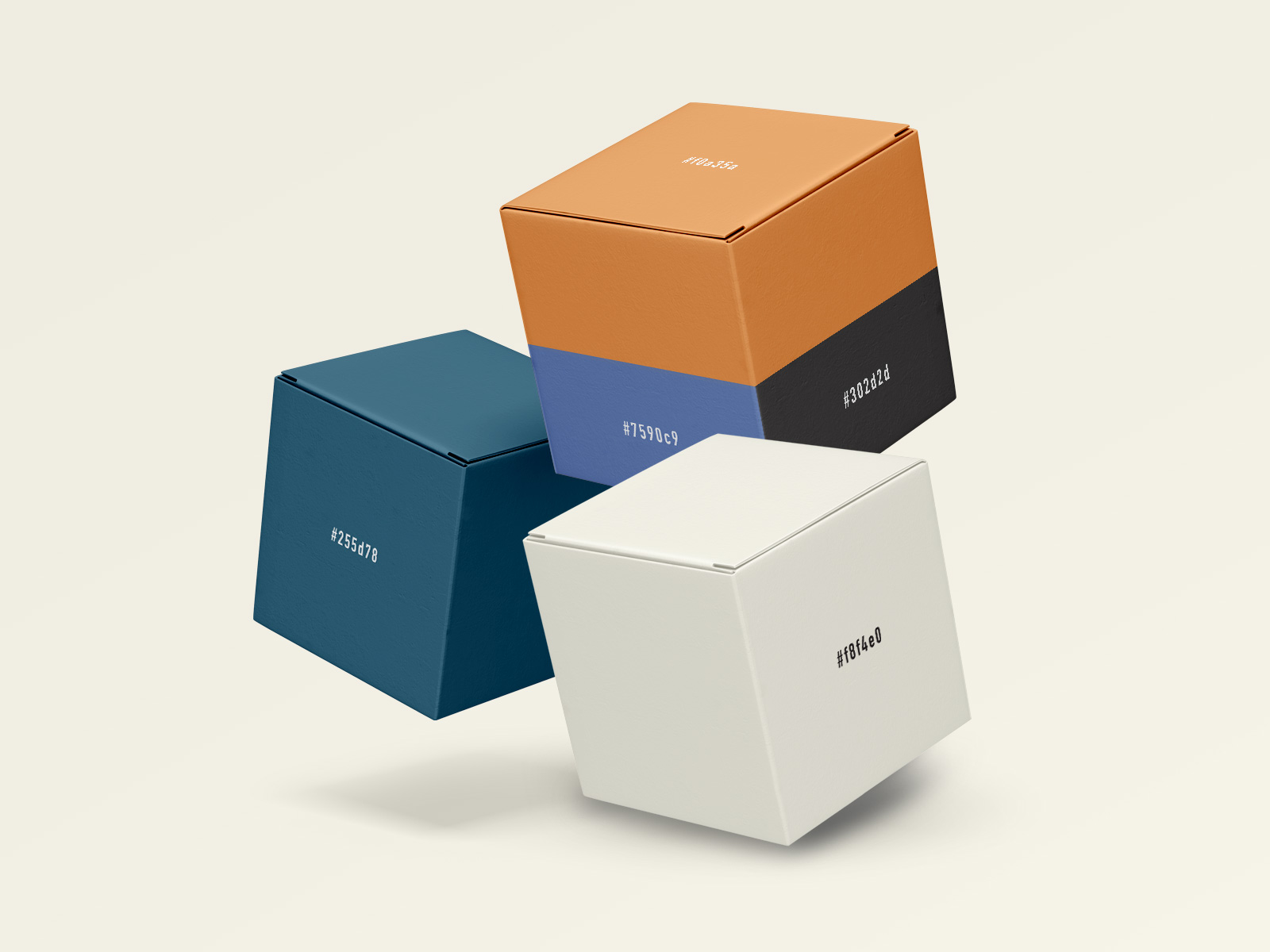 Colour Palette for High Ground Brand Identity Design Project