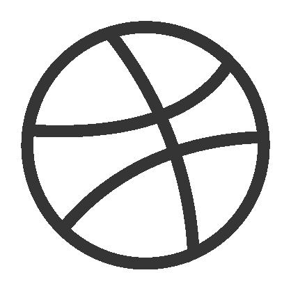 Dribbble Logo Design