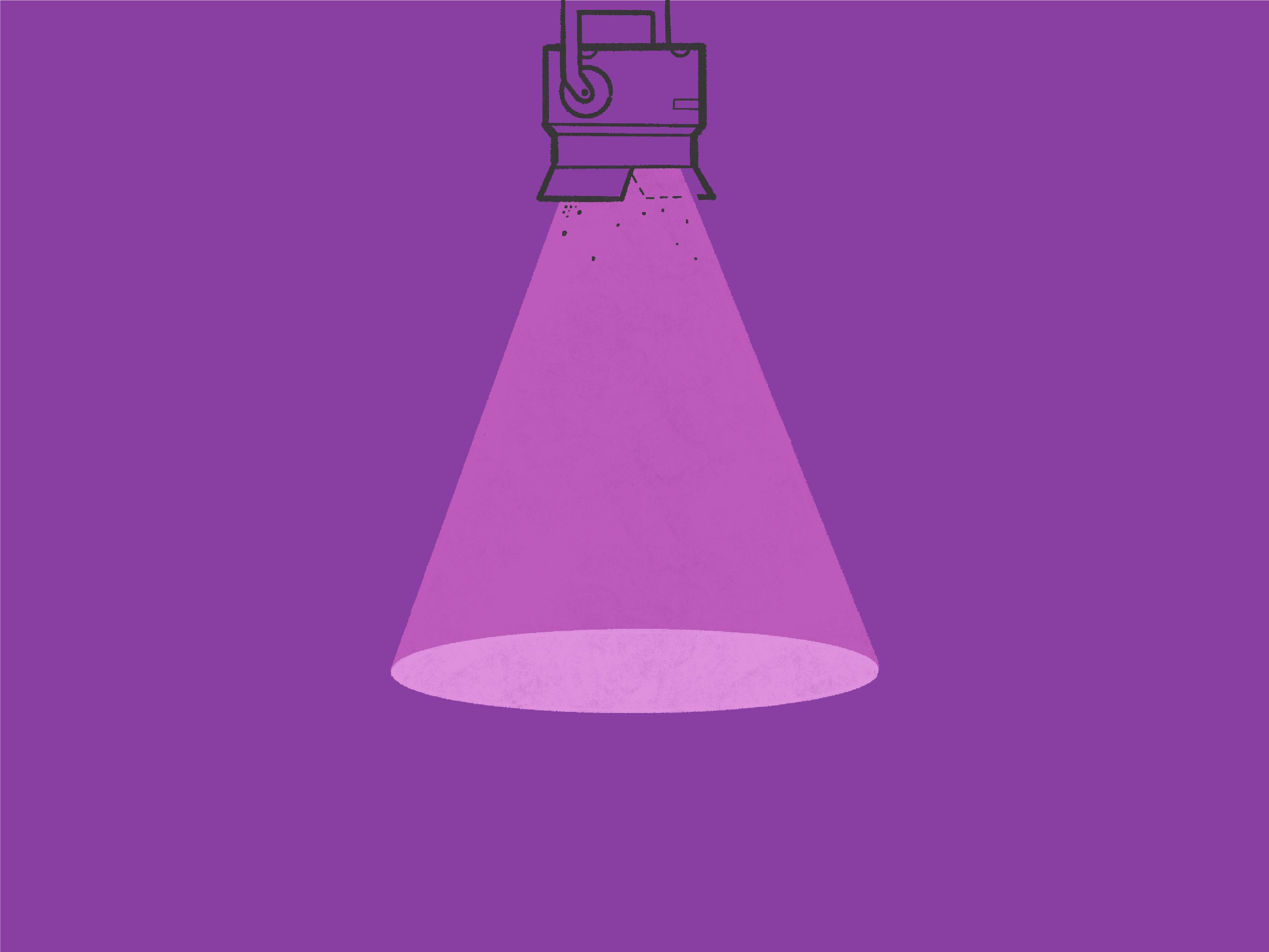 illustrated spotlight for greg baan .com