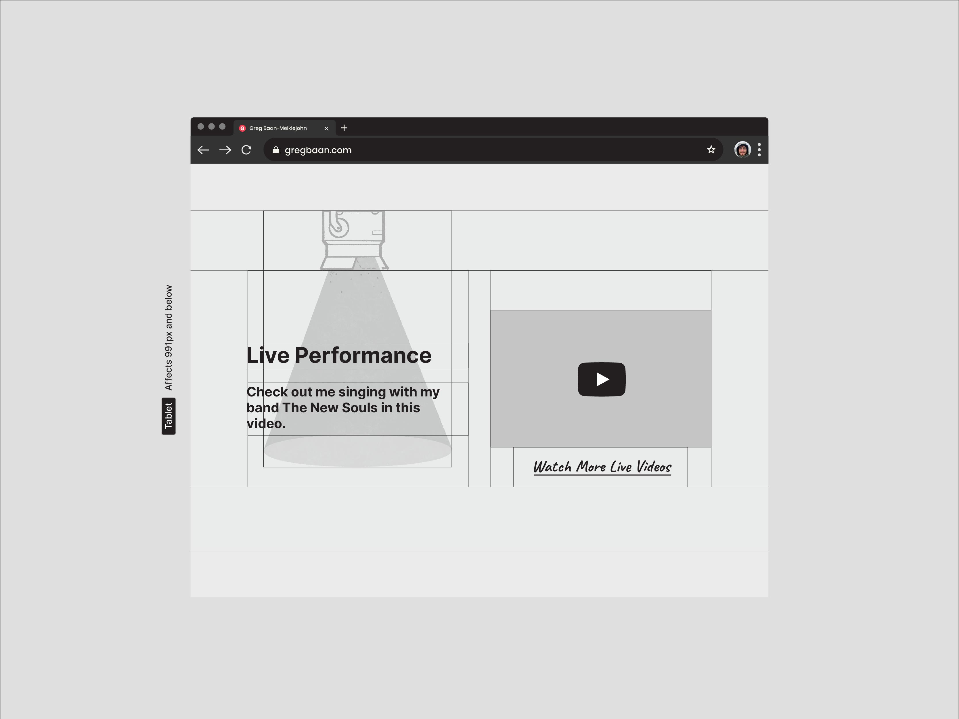 Website Wireframe Design Designed by Lucas Bell Graphic Designer in Victoria BC Canada