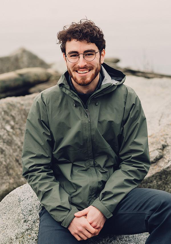 Portrait of Lucas Bell Graphic Designer in Victoria BC Canada